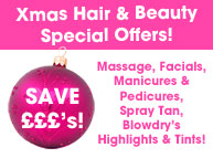 Give the gift of beauty this christmas love u tanning for Beauty salon xmas offers