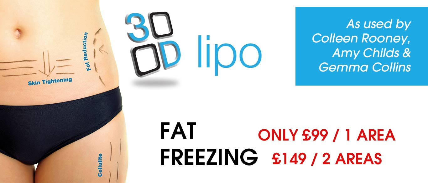 3d lipo fat freezing free tanning session love u salon middlesex london
